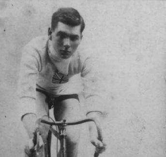 Team GB cyclist Basil Bragg