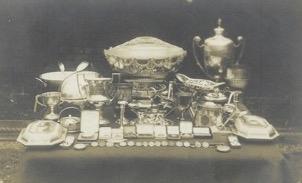 Basil's trophy haul