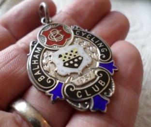 Balham 100 medal of RA Raxworthy